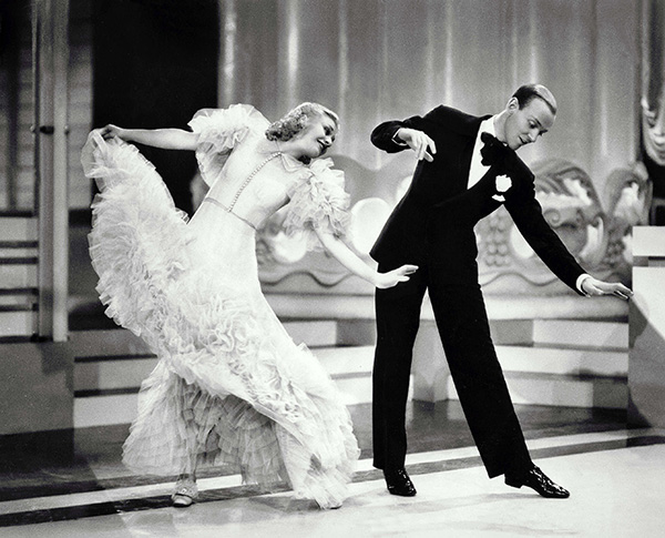 Ginger Rogers And The Pain Of Professionalism Words Of Women