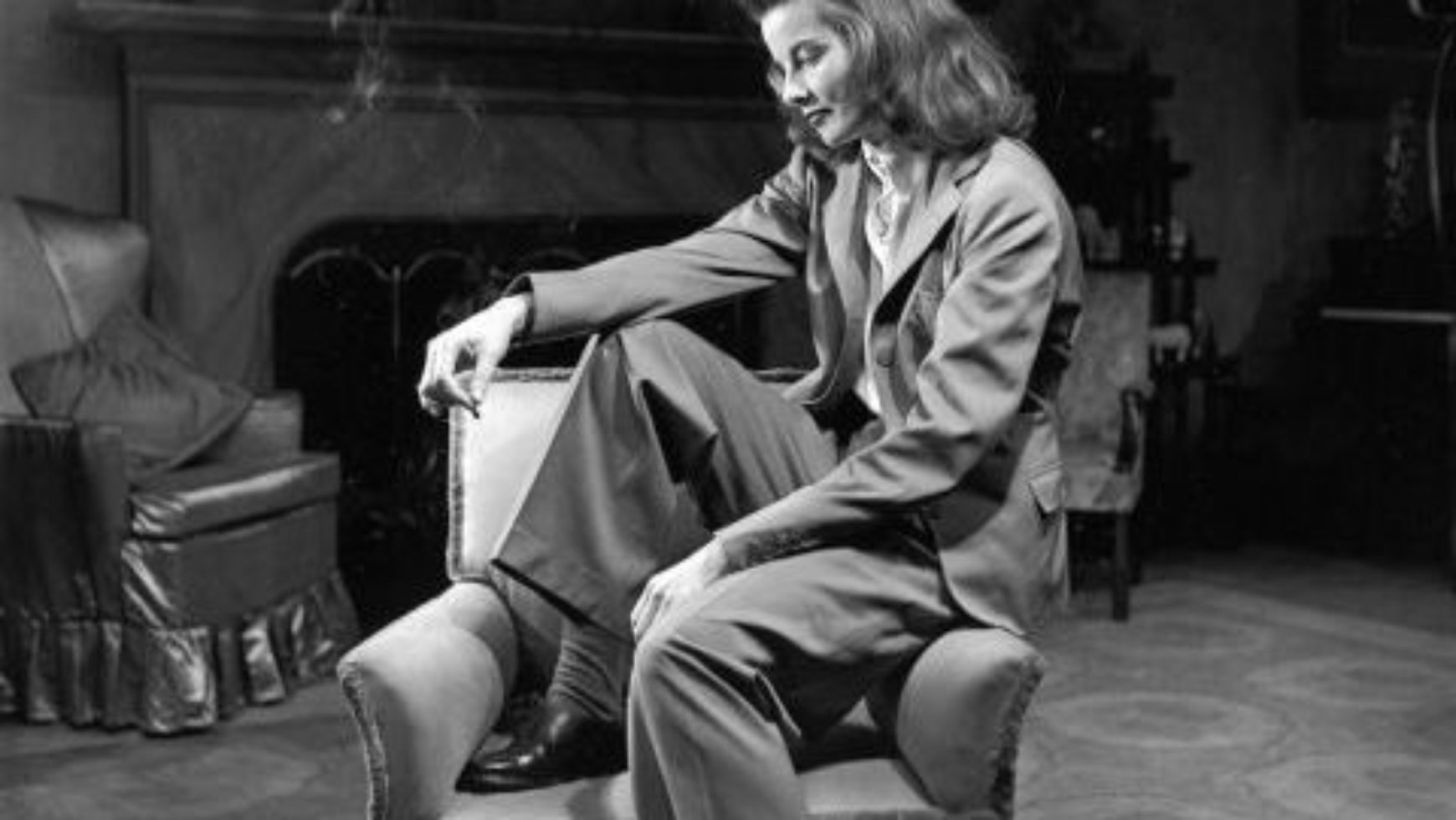 Katharine Hepburn explains the meaning of 'living well'